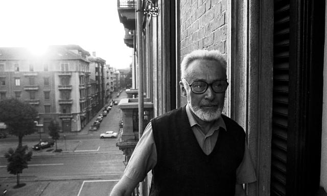 Primo Levi in Turin, 1985